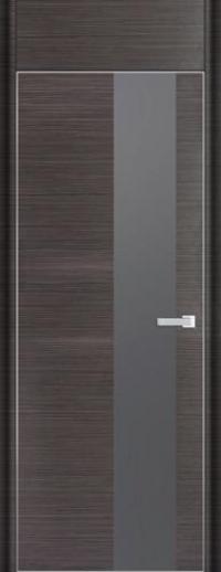 Дверь 5D, грей браш - НанШпон