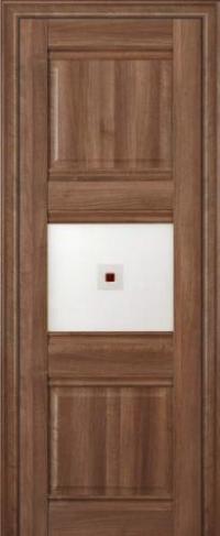 Дверь 3X, орех сиена - Экошпон