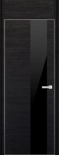 Дверь 5D, черный браш - НанШпон