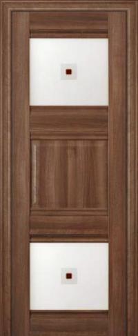 Дверь 6X, орех сиена - Экошпон