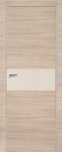Дверь 4Z, капучино кроскут, перламутровый лак - Экошпон