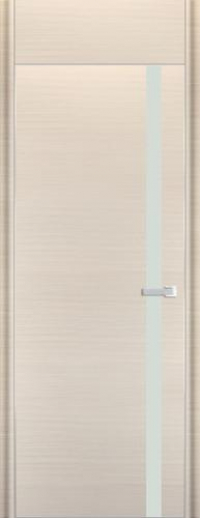 Дверь 6D, белый дуб браш - НанШпон