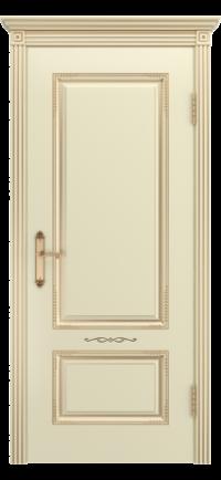 АККОРД В2 ДГ Слоновая кость патина золото