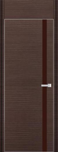 Дверь 6D, венге браш - НанШпон
