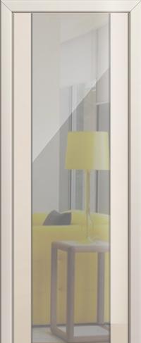 Дверь 8L, магнолия люкс, зеркальный триплекс
