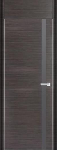 Дверь 6D, грей браш - НанШпон