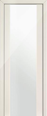 Дверь 8L, магнолия люкс, остекленная