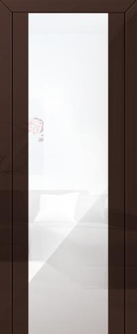 Дверь 8L, терра, белый триплекс