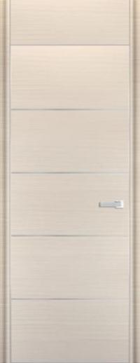 Дверь 7D, белый дуб браш - НанШпон