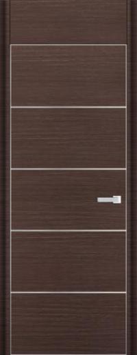 Дверь 7D, венге браш - НанШпон