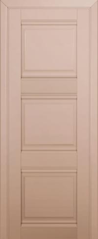 Дверь 3U, капучино-сатинат, глухая