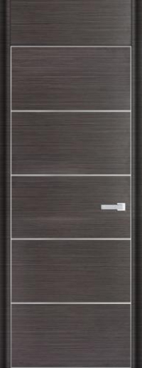 Дверь 7D, грей браш - НанШпон