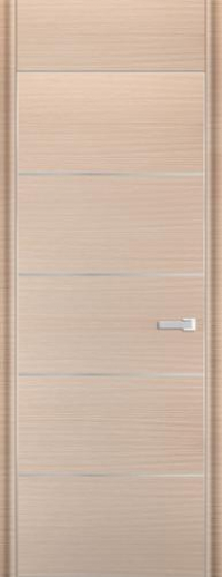 Дверь 7D, капучино браш - НанШпон