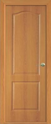 Дверь Классика ДГ, миланский орех - МДФ