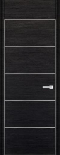 Дверь 7D, черный браш - НанШпон