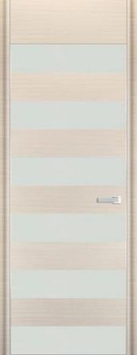 Дверь 8D, белый дуб браш - НанШпон