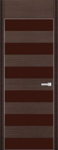 Дверь 8D, венге браш - НанШпон