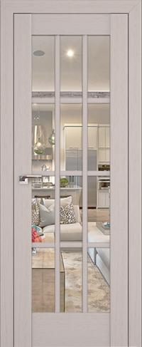 Дверь 102X, пекан белый - Экошпон