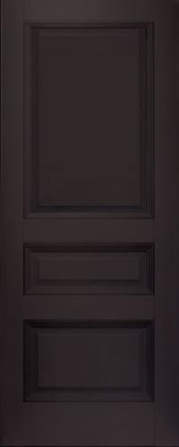 Дверь 66U, темно-коричневый, глухая