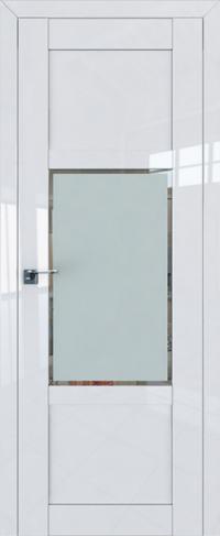 Дверь 2-15L, белый люкс