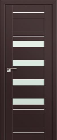 Дверь 32U, темно-коричневый, остекленная, мателюкс