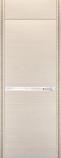 Дверь 11D, белый дуб браш - НанШпон