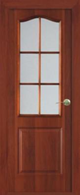 Дверь Классика ДО, итальянский орех - МДФ