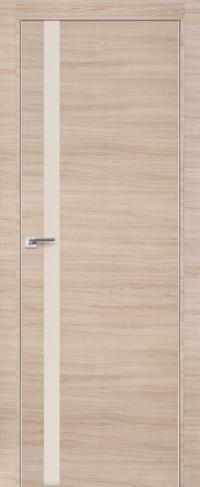 Дверь 6Z, капучино кроскут, перламутровый лак - Экошпон