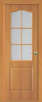 Дверь Классика ДО, миланский орех - МДФ