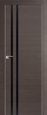Дверь 19Z, грей черный глянец - Экошпон