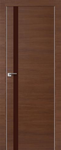Дверь 6Z, малага черри кроскут, коричневый - Экошпон