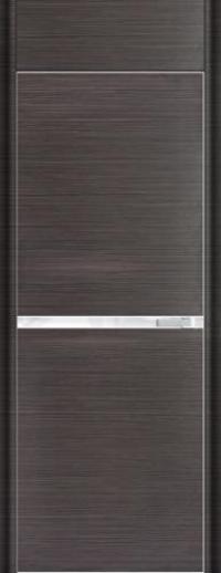 Дверь 11D, грей браш - НанШпон