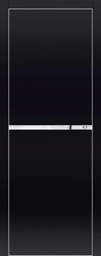 Дверь 3VG черный глянец - высокий глянец