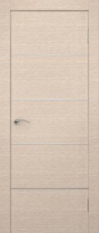 Дверь Манчестер, беленый дуб - Экошпон