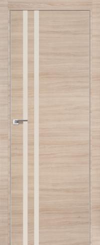 Дверь 19Z, капучино перламутровый лак - Экошпон