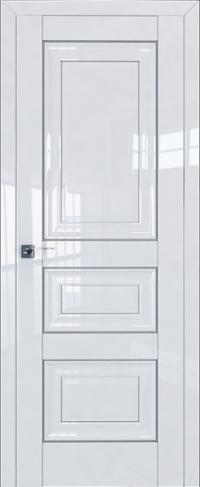Дверь 25L, белый люкс, глухая