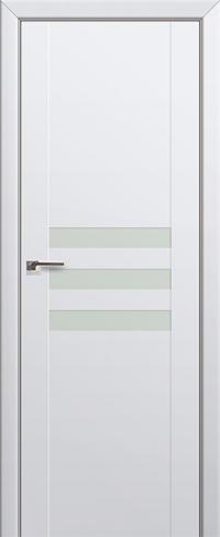 Дверь 74U, аляска, остекленная