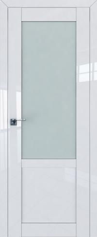 Дверь 2-17L, белый люкс