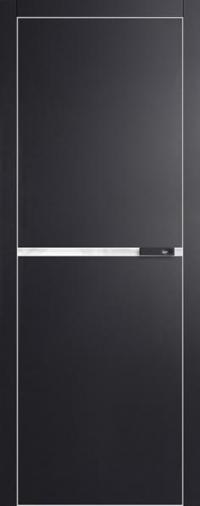 Дверь 3VG черный матовый - высокий глянец