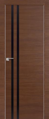 Дверь 19Z, малага черри черный глянец - Экошпон