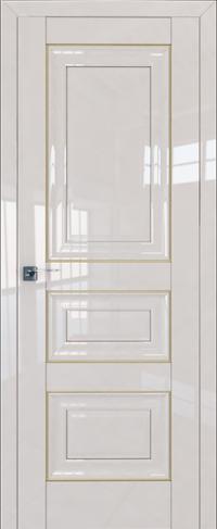 Дверь 25L, магнолия люкс, глухая