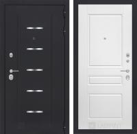 Входная дверь Альфа 03 - Белый софт