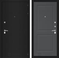 Входная дверь CLASSIC шагрень черная 11 - Графит софт