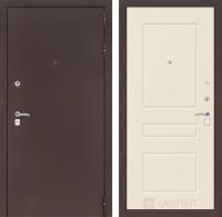 Входная дверь CLASSIC антик медный 03 - Крем софт