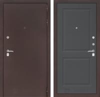 Входная дверь CLASSIC антик медный 11 - Графит софт