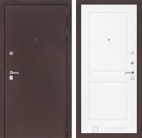 Входная дверь CLASSIC антик медный 11 - Белый софт