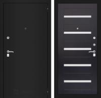 Входная дверь CLASSIC шагрень черная 01 - Венге