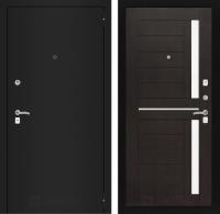 Входная дверь CLASSIC шагрень черная 02 - Венге