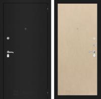 Входная дверь CLASSIC шагрень черная 05 - Венге светлый