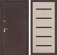 Входная дверь CLASSIC антик медный 01 - Беленый дуб